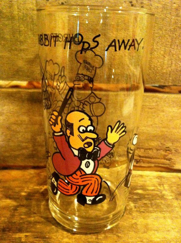 Burger Chef Glass ビンテージ バーガーシェフ グラス タンブラー コップ ノベルティー ファーストフード アドバタイジング 企業キャラクター 企業物 アメリカ雑貨 ヴィンテージ 70年代 vintage
